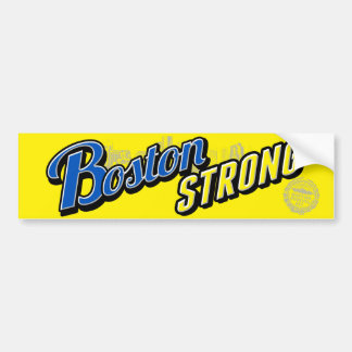Boston City Strong Bumper Stickers