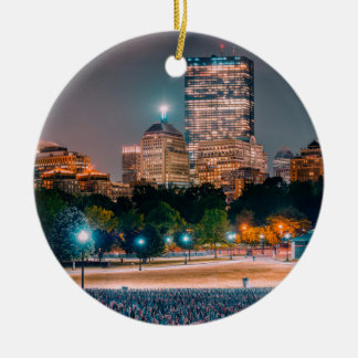 Boston Common Ceramic Ornament