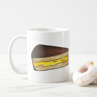 Boston Cream Creme Pie Slice Foodie Massachusetts Coffee Mug