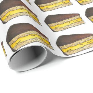 Boston Cream Pie Slice Food Foodie Dessert Wrap