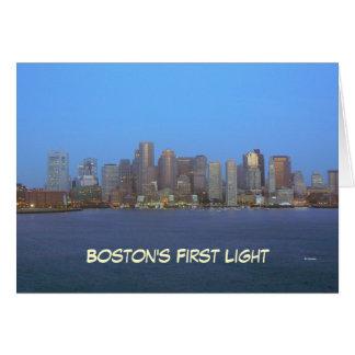 Boston early--blank card
