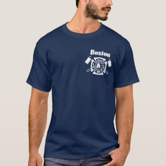 Boston Fire Dept. E33 & L15 T-Shirt