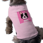 Boston Girl Dog T-shirt