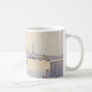 Boston Harbor 1846 Basic White Mug