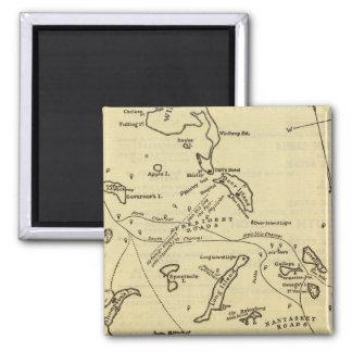 Boston Harbor 2 Fridge Magnets