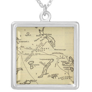 Boston Harbor 2 Silver Plated Necklace