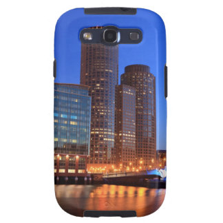 Boston Harbor and skyline.  Boston is one of the 2 Samsung Galaxy SIII Case
