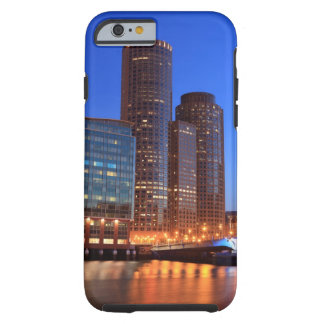 Boston Harbor and skyline.  Boston is one of the 2 Tough iPhone 6 Case