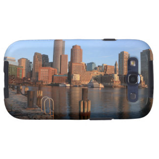 Boston Harbor and skyline.  Boston is one of the 3 Galaxy SIII Covers
