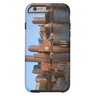 Boston Harbor and skyline.  Boston is one of the 3 Tough iPhone 6 Case