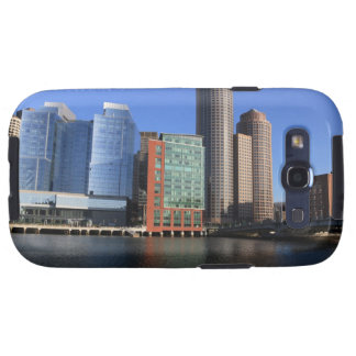 Boston Harbor and skyline.  Boston is one of the 4 Samsung Galaxy S3 Case