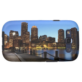Boston Harbor and skyline.  Boston is one of the 6 Samsung Galaxy SIII Cover