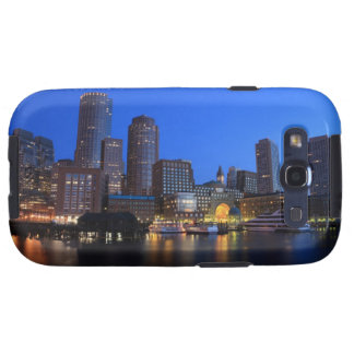 Boston Harbor and skyline.  Boston is one of the 8 Samsung Galaxy SIII Case