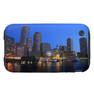 Boston Harbor and skyline.  Boston is one of the 8 iPhone 3 Tough Cases