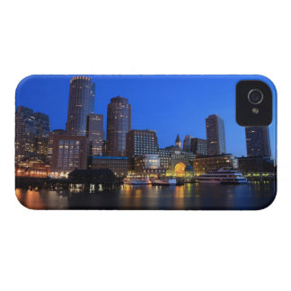 Boston Harbor and skyline.  Boston is one of the 8 iPhone 4 Covers