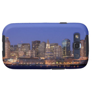Boston Harbor and skyline.  Boston is one of the 9 Galaxy SIII Cover