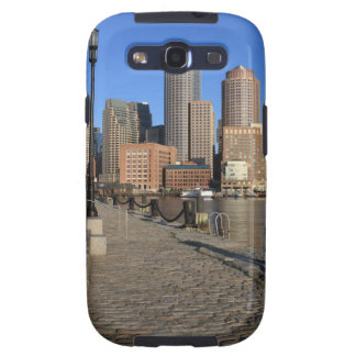 Boston Harbor and skyline.  Boston is one of the Galaxy SIII Cases