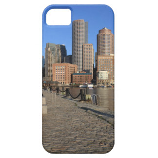 Boston Harbor and skyline.  Boston is one of the iPhone 5 Case