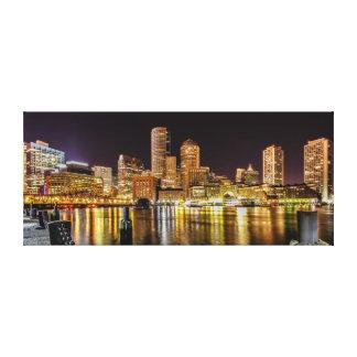 Boston Harbor Canvas Prints