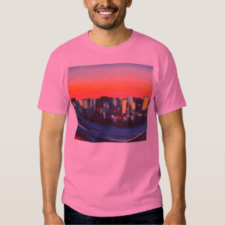 Boston Harbor from the Air T-Shirt