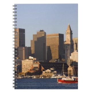 Boston Harbor Massachusetts Note Book