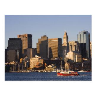 Boston Harbor, Massachusetts Postcard