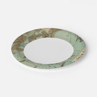 Boston Harbor 7 Inch Paper Plate