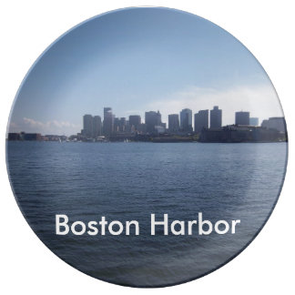 Boston Harbor Porcelain Plates