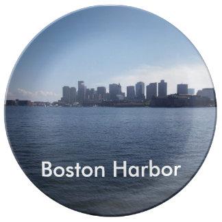 Boston Harbor Porcelain Plates