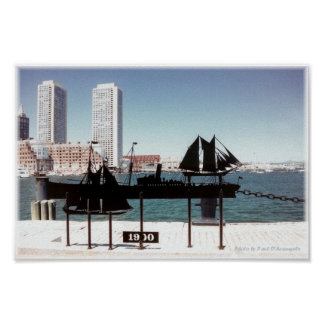 Boston Harbor - Shadows of the Past 1 Poster