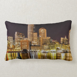 Boston Harbor Throw Cushion