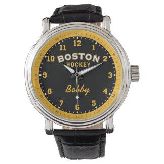 Boston Hockey 12 Hour Watch