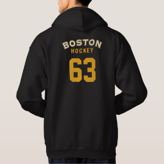 Boston Hockey black Hooded Sweatshirt