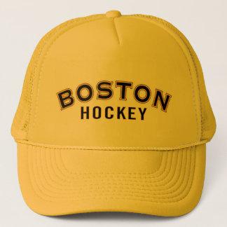 Boston Hockey Gold Trucker Hat