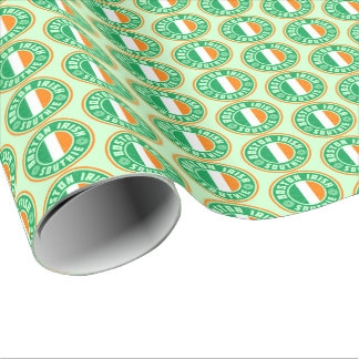 Boston Irish American Southie Gift Wrap