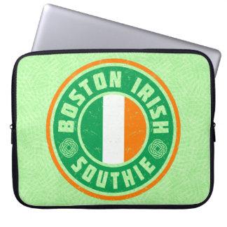 Boston Irish American Southie Laptop Cover