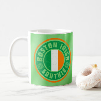 Boston Irish American Southie Mug