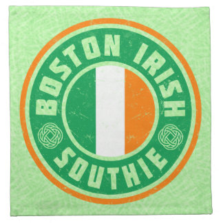 Boston Irish American Southie Napkin