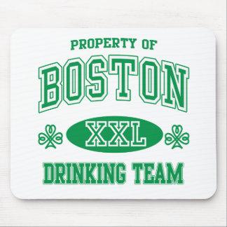 Boston Irish Drinking Team Mouse Pad