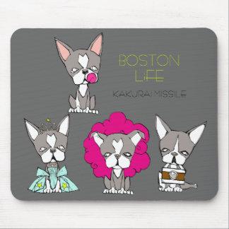 BOSTON LiFE by Kakurai missile Mouse Pad