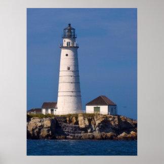 Boston Lighthouse Poster