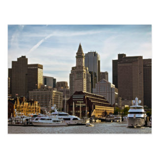Boston Long Wharf Postcard