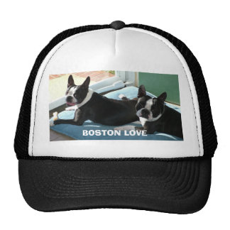 BOSTON LOVE MESH HAT