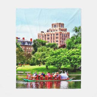 Boston MA - Boston Public Garden Fleece Blanket
