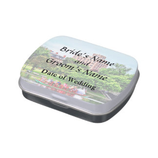 Boston MA - Boston Public Garden Wedding Supplies Candy Tin