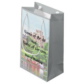 Boston MA - Boston Public Garden Wedding Supplies Small Gift Bag