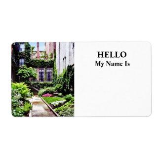 Boston MA - Hidden Garden