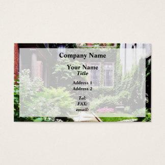 Boston MA - Hidden Garden Business Card