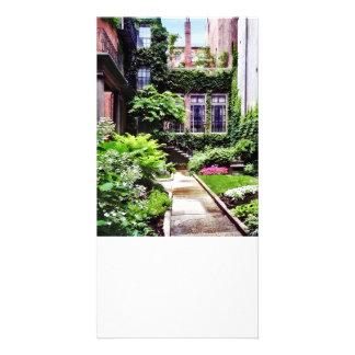 Boston MA - Hidden Garden Card