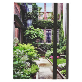 Boston MA - Hidden Garden Cover For iPad Air